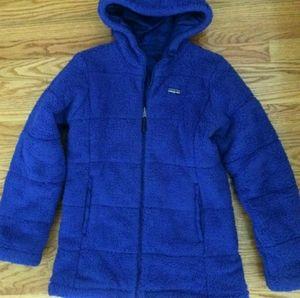 Patagonia Girl's Dynamo Duo Reversibe Jacket Sz 14